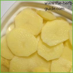 Chive and Potato Bake