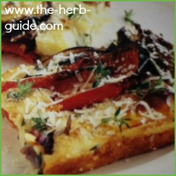 Herb Open Tart Recipe