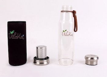Tea Infuser Bottle with Insulating Sleeve