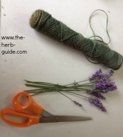 drying lavender tool